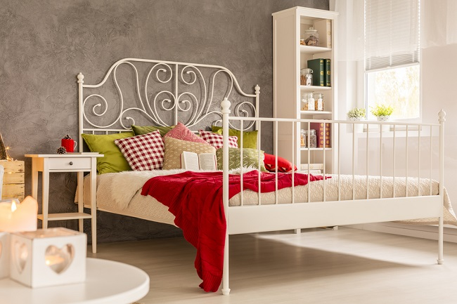 Light,Room,With,Window,,Bed,And,Bookcase